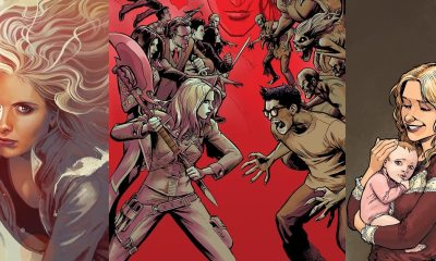 Buffy1 Copy - Buffy Is Back in New Buffy the Vampire Slayer Comic Miniseries by Joss Whedon