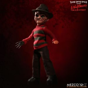 mezco freddy9 1 300x300 - Mezco's Talking Freddy Krueger and Deluxe Stylized Jason Voorhees Figures Available to Pre-Order