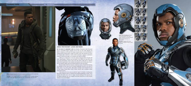 pacrim uprising artbook2 - Explore The Art and Making of Pacific Rim Uprising This Spring