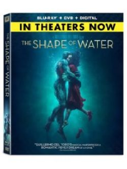 shape of water blu 225x300 - The Shape of Water Takes Shape on Home Video