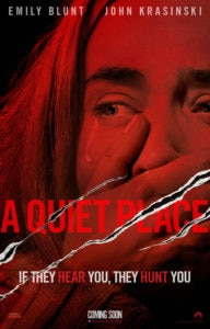 A Quiet Placeposter 192x300 - New A Quiet Place Promo Tells Us to STFU