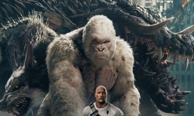 RampageNewPosterFI - Big Meets Bigger In Epic New Rampage Poster Featuring Dwayne Johnson