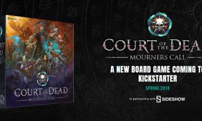 court of the dead mourners call box - Sideshow Teaming with Project Raygun on New Court of the Dead Tabletop Game