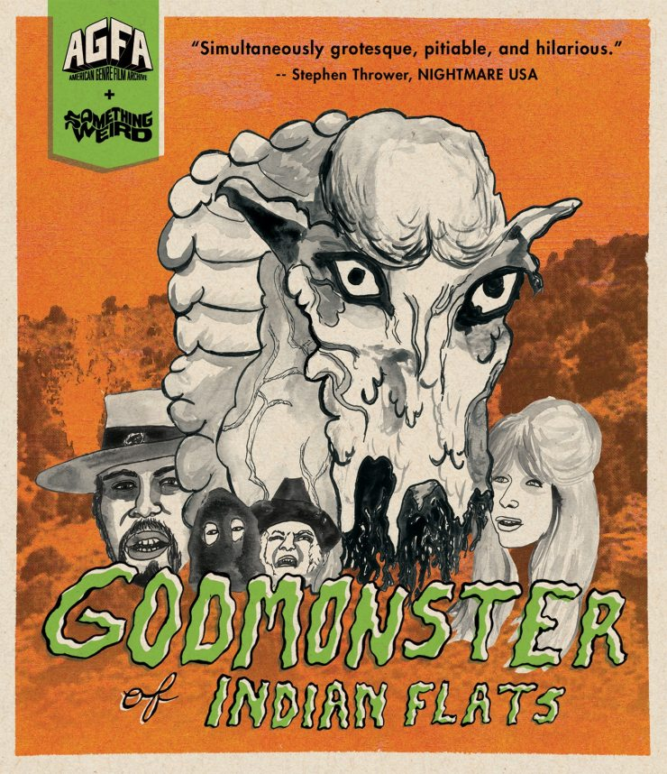 godmonster of inidan flats BD - Mutant Doomsday Sheep Monster Movie Godmonster of Indian Flats Spawns 4K Blu-ray