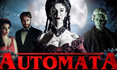 Automata Graphic Banner - Trailer and Poster Revealed for Gothic Thriller Automata