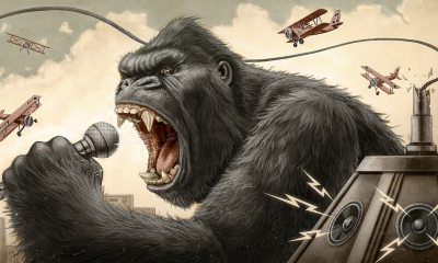 King Kong Musical - Broadway's KING KONG: THE MUSICAL Casts First Humans