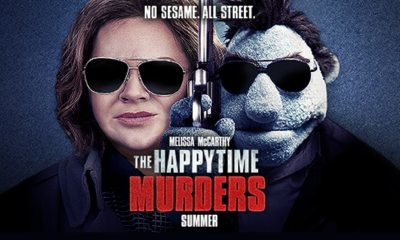 happy - Puppet Murder Mystery THE HAPPYTIME MURDERS Gets Red Band Trailer