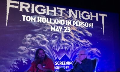 tom and me - Horrible Imaginings Podcast 187: Tom Holland Talks Fright Night at The Frida!