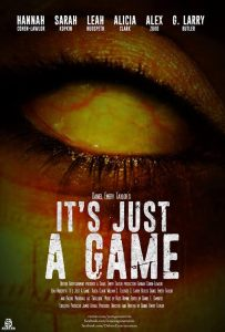 Its Just a Game Poster 203x300 - First-Look: Paranormal Slasher Thriller IT'S ONLY A GAME