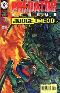 Predator vs Judge Dredd 194x300 - Comic Book Superheroes You Had No Idea Battled The PREDATOR