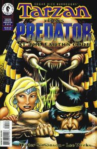 Tarzan vs Predator 196x300 - Comic Book Superheroes You Had No Idea Battled The PREDATOR