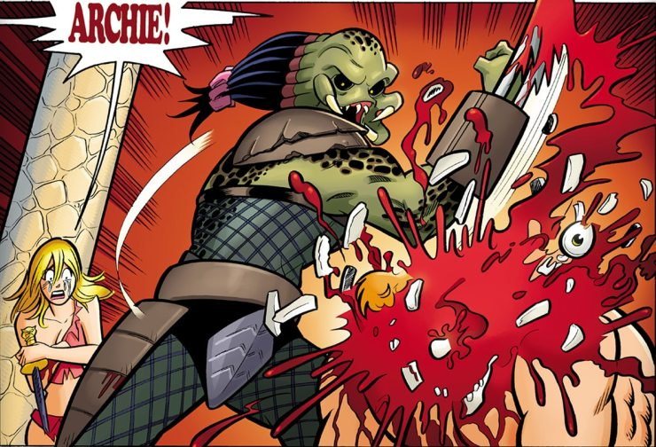 archie vs predator - Comic Book Superheroes You Had No Idea Battled The PREDATOR