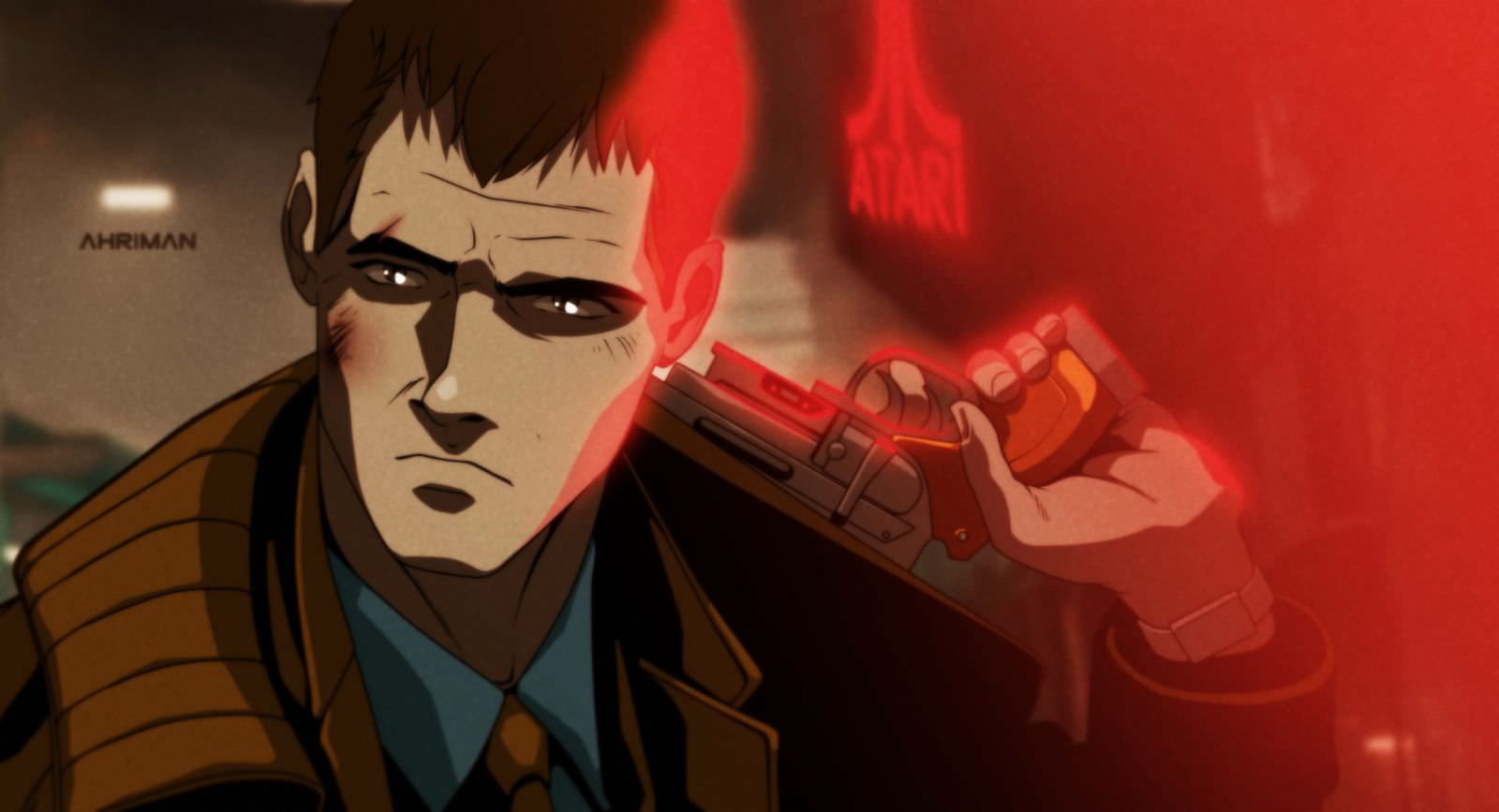 Ahriman BLADE RUNNER 2 - Must-See Art: Ahriman Turns Classic Flicks Into Anime!