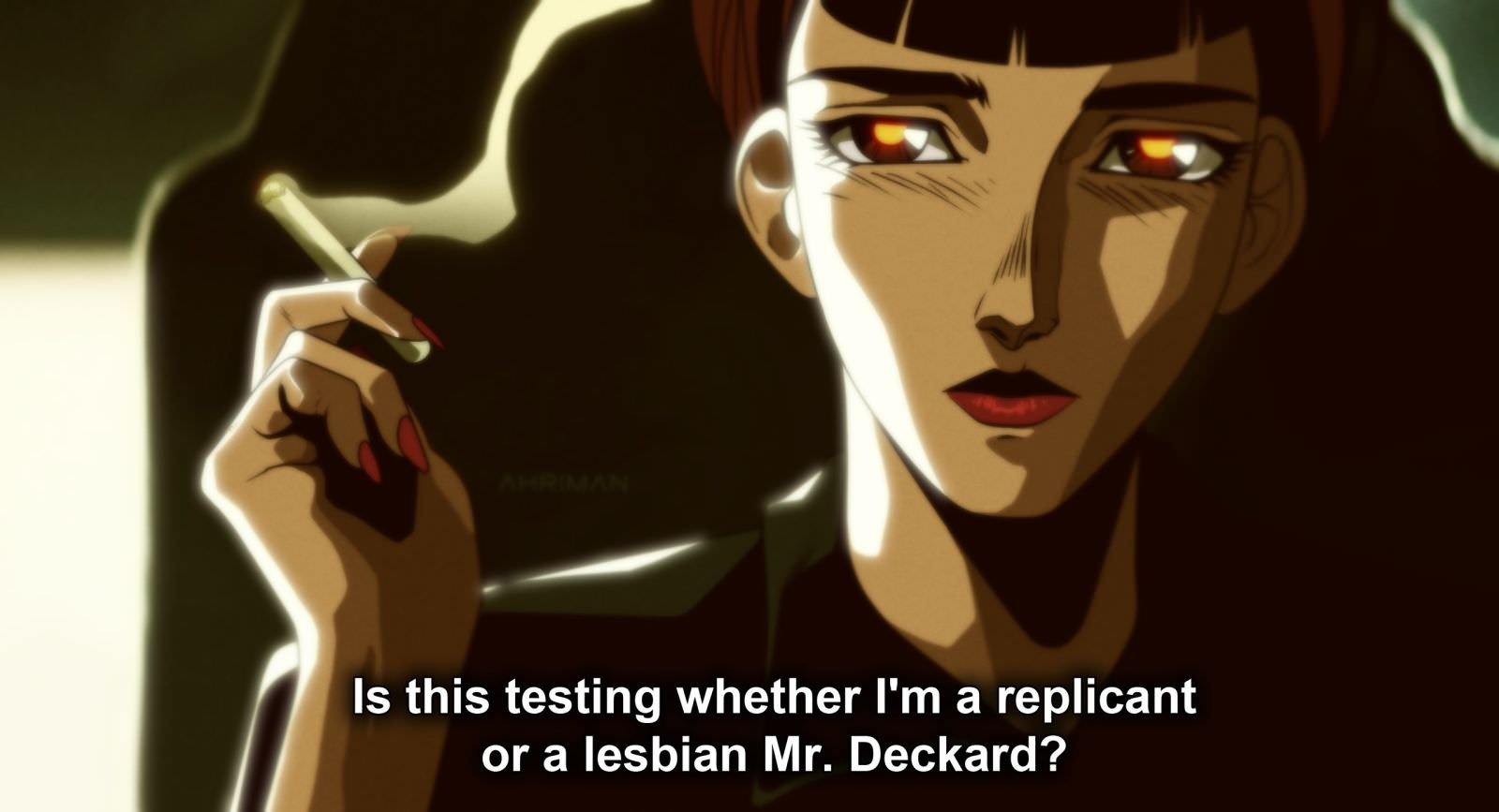 Ahriman BLADE RUNNER 3 - Must-See Art: Ahriman Turns Classic Flicks Into Anime!
