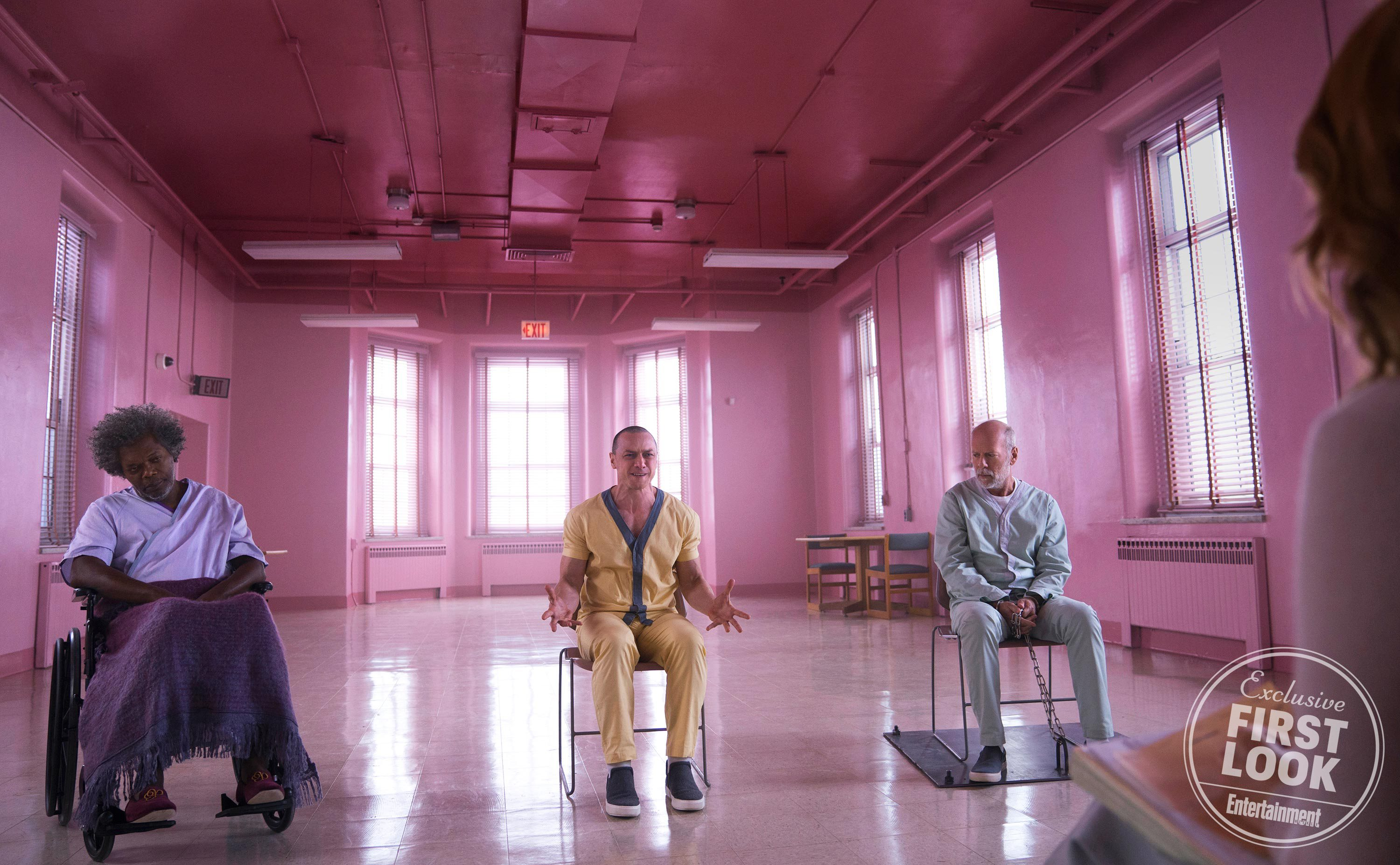 Glass Pic 3 - New GLASS Pics Featuring Willis, Jackson, Joy, and McAvoy
