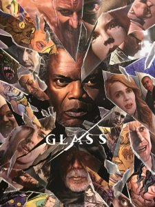 Glass Poster 225x300 - #SDCC18: Behold the Trailer for GLASS!