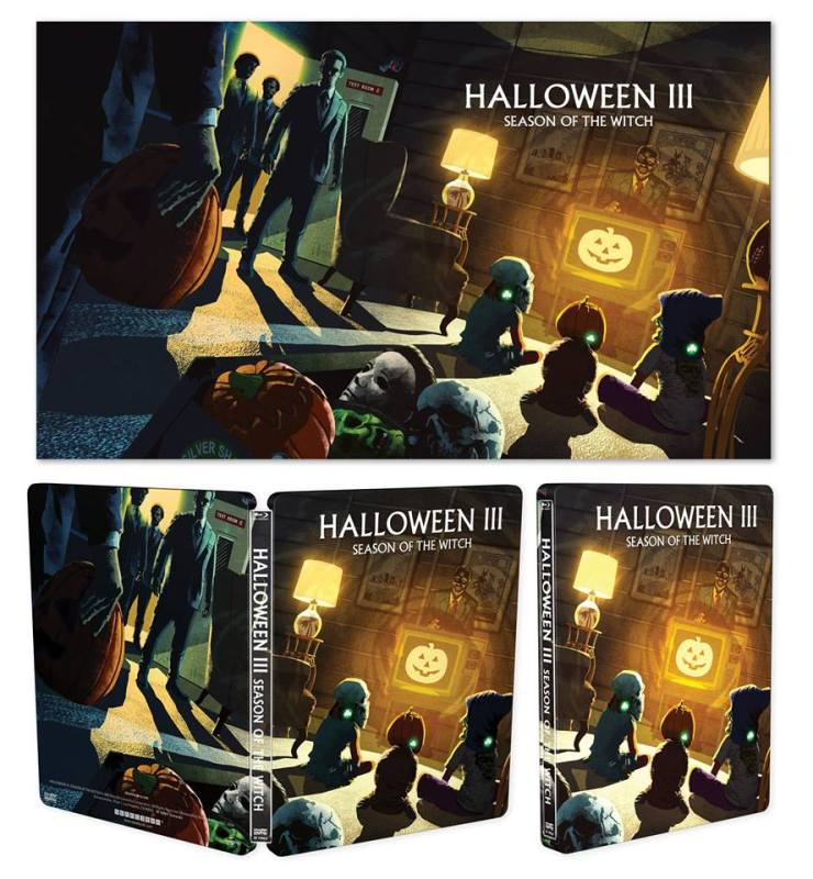 Halloween Steelbooks 3 - Scream Factory Announces HALLOWEEN II & III Steelbooks