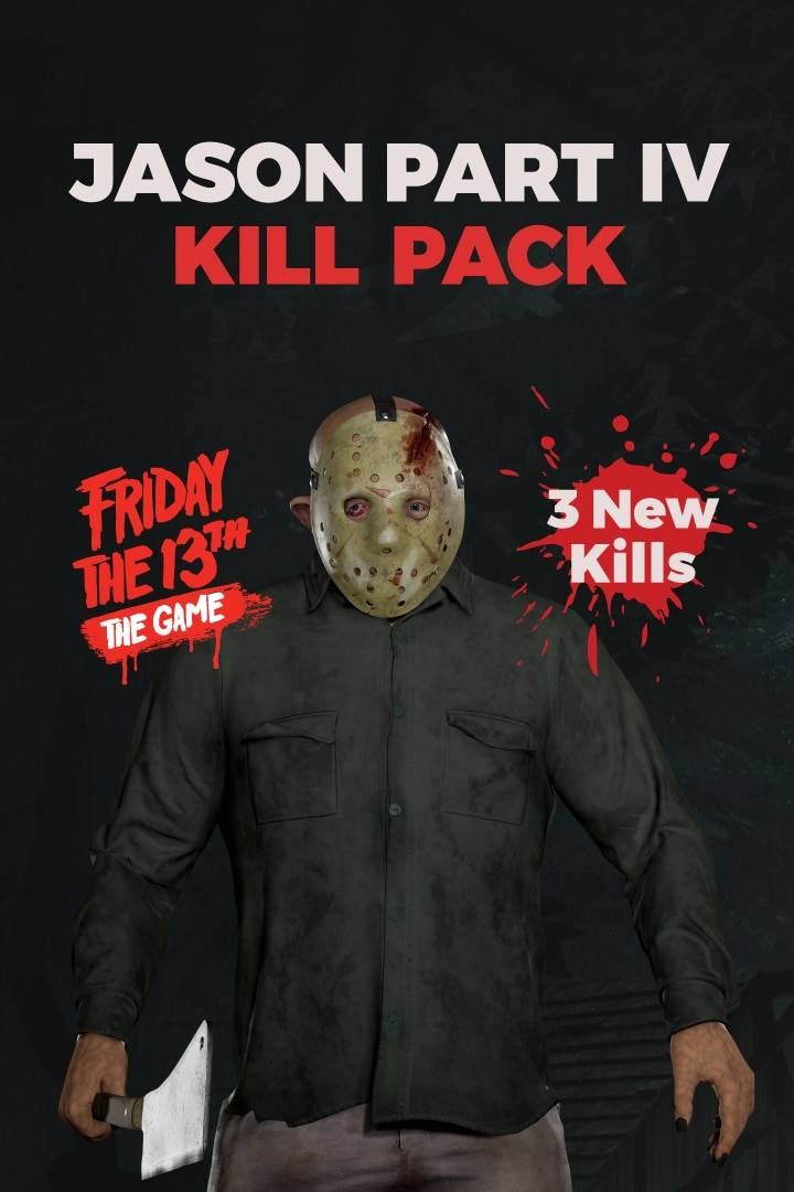 J4 killpk Poster Art - Must-Own: FRIDAY THE 13TH: THE GAME Ultimate Slasher Collector's Edition