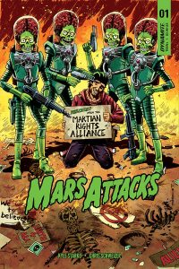Mars Attacks 2 200x300 - #SDCC18: MARS ATTACKS! Comics Return This October