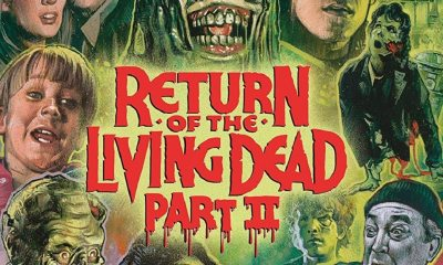 ROTLD2 Blu ray 1 - RETURN OF THE LIVING DEAD PART II Collector's Edition Blu-ray Bonus Features Announced!