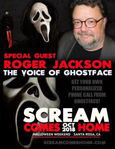 Scream Comes Home GHOSTFACE 231x300 - What If SCREAM's Ghostface Called You?