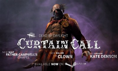 dead by daylight curtain call 1 - DEAD BY DAYLIGHT's CURTAIN CALL DLC Adds A Killer Clown To The Mix