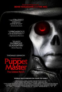 PUPPETMASTER Poster image 1080X1600 203x300 - Interview: Skeeta Jenkins Becomes cuddly in PUPPET MASTER: THE LITTLE REICH