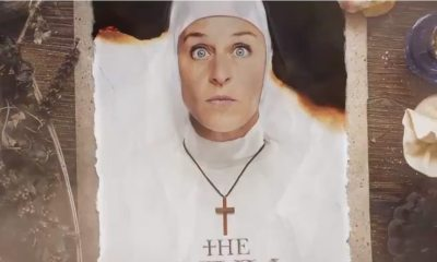 "Ellen The Nun Parody  - Check Out Ellen DeGeneres's ""Cameo"" in (Parody) Trailer for THE NUN"