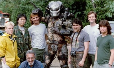 Predator 1987 B t S - Stan Winston Studios Shares New Behind-the-Scenes Footage of 1987s PREDATOR