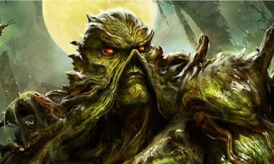 """Swamp Thing 1 - Gary Dauberman's SWAMP THING TV Series Will """"Go Graphic with the Violence"""""""