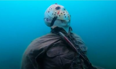 Voorhees Statue in Lake Pleasant - Jason (Still) Lives at the Bottom of Lake Pleasant!