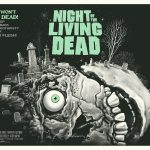 """Mondo NIght of the Living Dead green - Exclusive Interview with Renowned Horror Artist """"Ghoulish"""" Gary Pullin"""