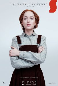 Suspiria 203x300 - Susie Looks Like a Fashion Farmer in New SUSPIRIA Poster