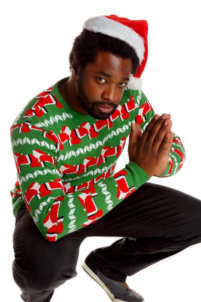 09 04 180948 600x600 human santapede is the bestworst ugly christmas sweater in - Best Christmas Sweaters