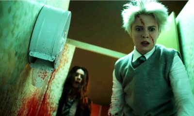 Anna and the Apocalypse - Zombies Bloody Up a Bathroom in Gross Clip from ANNA AND THE APOCALYPSE