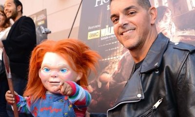 Chucky and Mancini - Don Mancini Describes Original BLOOD BUDDY Concept That Became CHILD'S PLAY