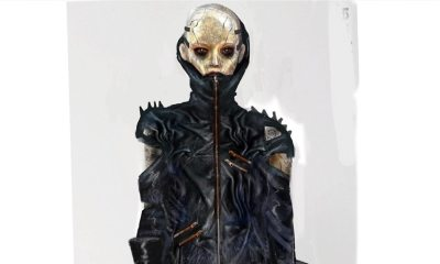 Mandy Concept ARt - Concept Art for MANDY Suggests One of the Demonic Bikers was Female