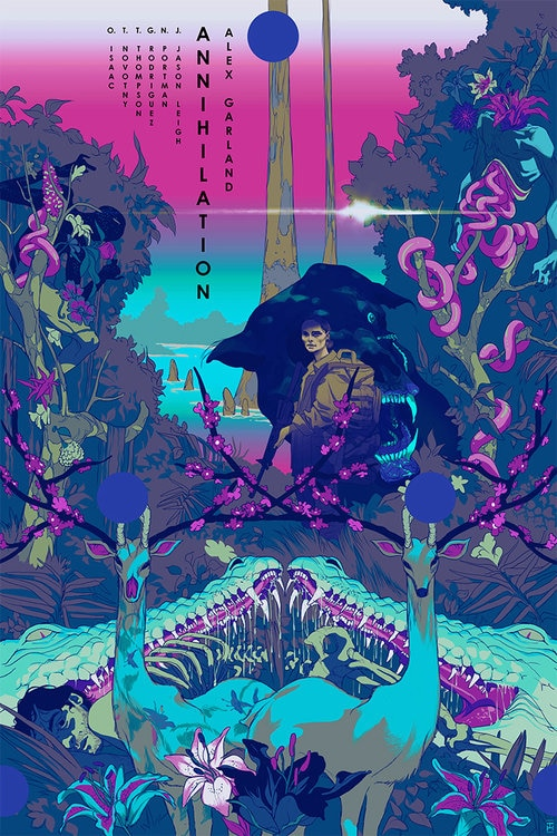 annihi VarA 72 - Tomer Hanuka's ANNIHILATION Prints Are a Work of Stunning Beauty