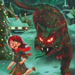 """yulecat - """"Holiday Cheer""""? More Like """"Holiday Fear"""" with Yuletide Horrors Christmas Cards!"""