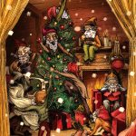 """yulelads - """"Holiday Cheer""""? More Like """"Holiday Fear"""" with Yuletide Horrors Christmas Cards!"""