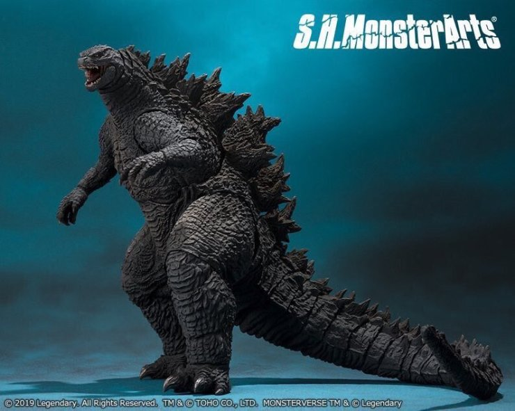 godzilla king of the monsters toys reveal creature design for king