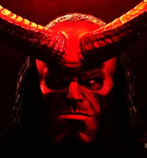 Hellboy 2019 Banner - HELLBOY Shows His Horns in Latest Poster + Trailer Release Date Announced