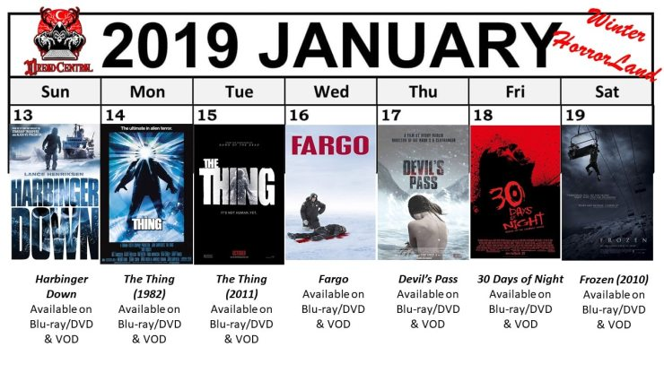 January 2019 Week 3 1 - Winter HorrorLand: Dread Central's 31-Day Movie Challenge for January 2019