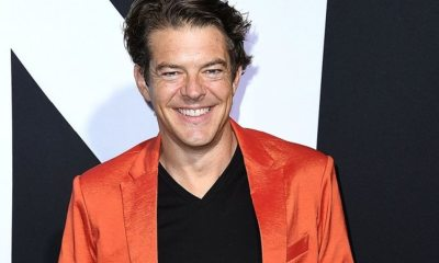 Jason Blum Pumpkin Suit - Jason Blum Auctions Custom Pumpkin-Colored 2-Piece Suit from HALLOWEEN Premiere