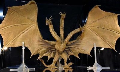 King G - GODZILLA: KING OF THE MONSTERS Toys Reveal Creature Design for King Ghidorah, Rodan & Mothra