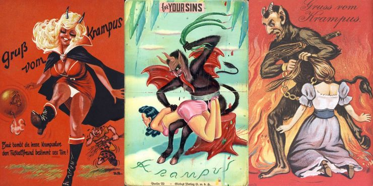Krampus Triptych 03 - The Anti-Claus is Coming to Town! A Brief History of Krampus