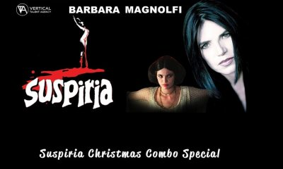 Suspiria Combos - VTA Has Christmas Combos featuring Original SUSPIRIA Actress Barbara Magnolfi