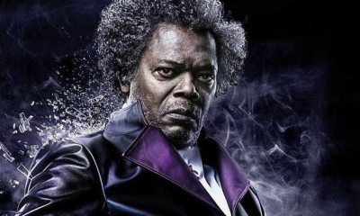 "Mr Glass Banner - Samuel L. Jackson Says M. Night Shyamalan Has Mellowed Over Time; Used to Be a ""Dictator"""