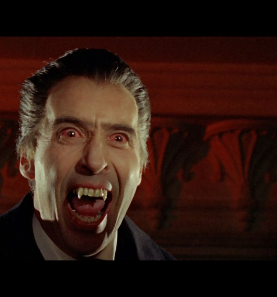 dracula prince banner - DRACULA: PRINCE OF DARKNESS Blu-ray Review - Lee Loses the Eloquence for Pure Evil