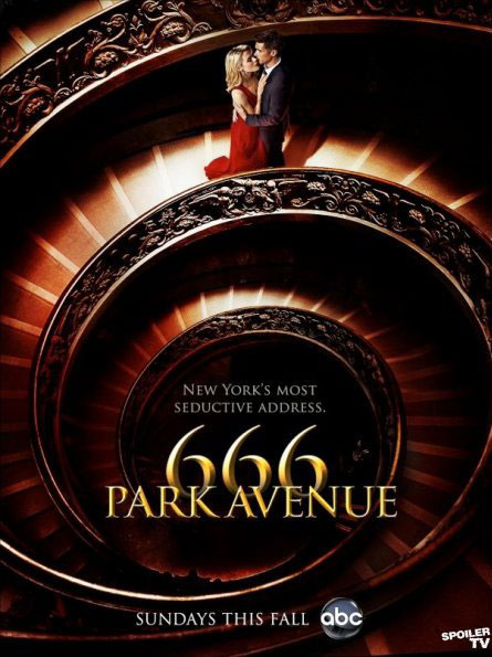 666promo1 - New Promo Posters for 666 Park Avenue Are Heavy on Sex but Light on Scares